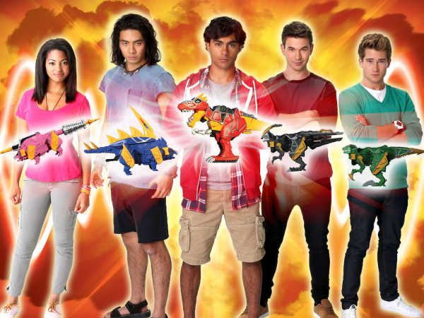 Power Rangers Dino Charge 2015