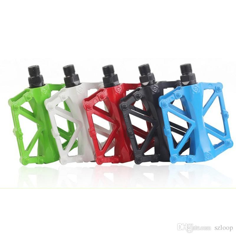 Wholesale cheap  online, road bikes bmx bikes mountain bikes   - Find best  1 pair hot bicycle pedals mountain bike mtb road cycling alloy vintage bearing bmx ultra-light platform pedal 5 color new arrival 2505025 at discount prices from Chinese bike pedals supplier - szloop on DHgate.com.