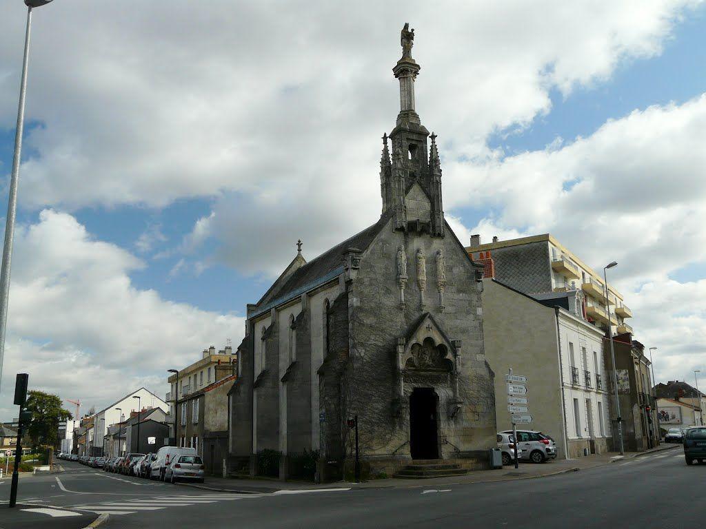 Nantes, Pirmil, Chapelle Notre-Dame de Bonne-Garde .Pays-de-la-Loire