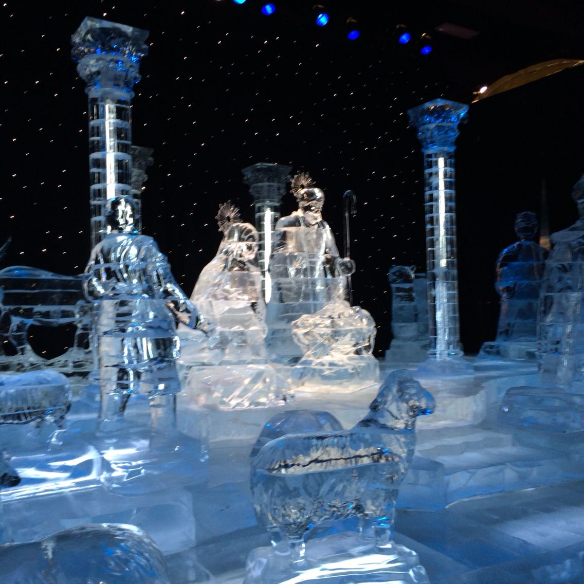 ICE ~ Nativity At Gaylord Opryland Hotel Nashville, TN | Places I ...