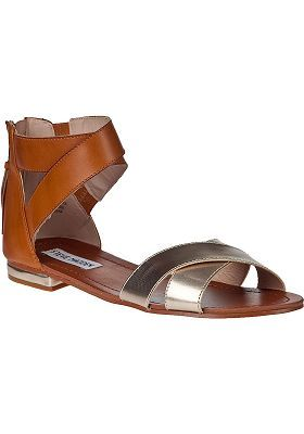 Steve Madden - Benadet Sandal Tan/Gold Leather