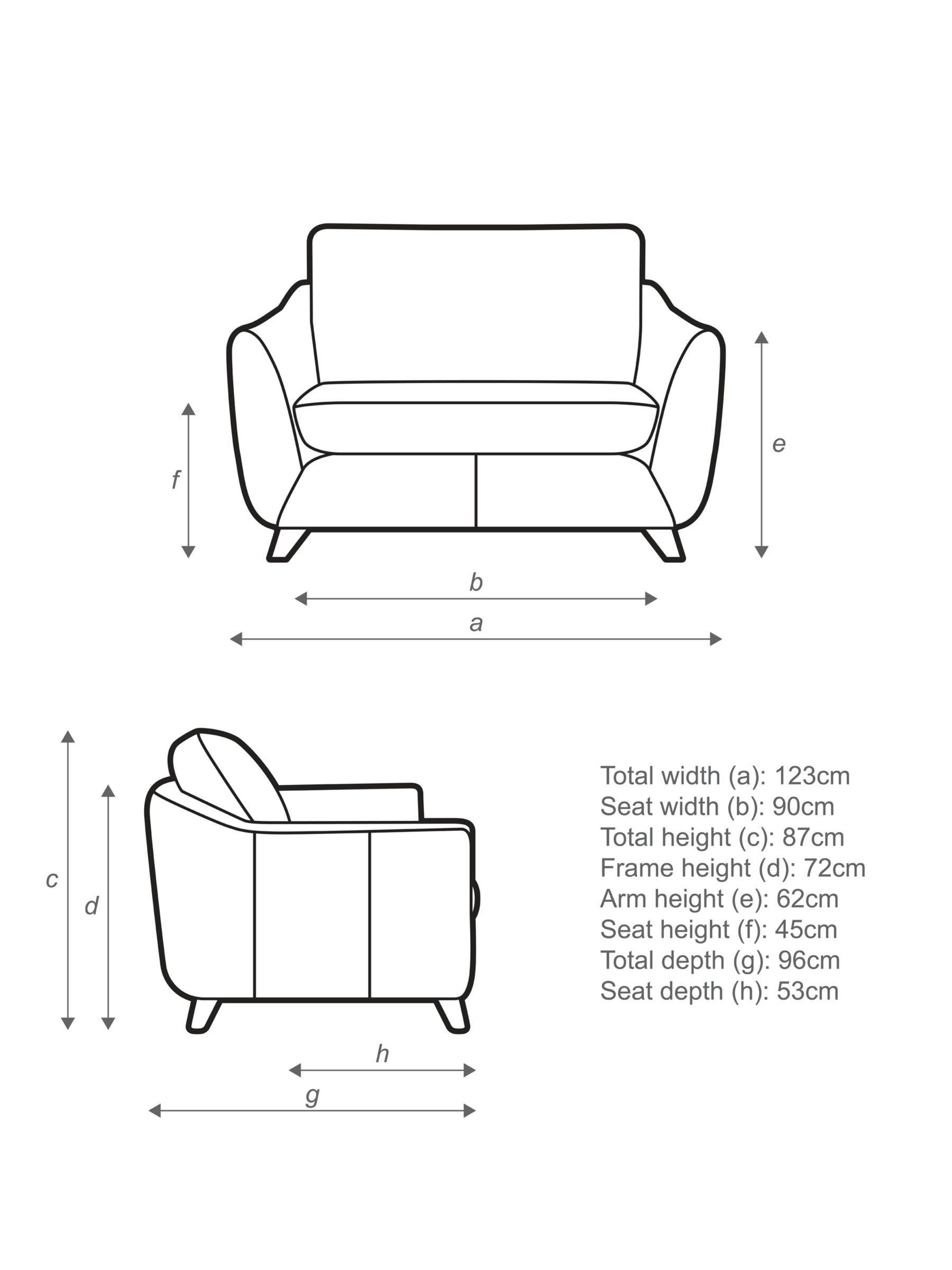 G Plan Vintage The Sixty Seven Leather Snuggler Capri Chalk 3 Seater Leather Sofa G Plan Sofa Leather Sofa