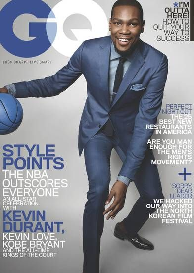 Kevin Durant takes over GQ cover | News OK