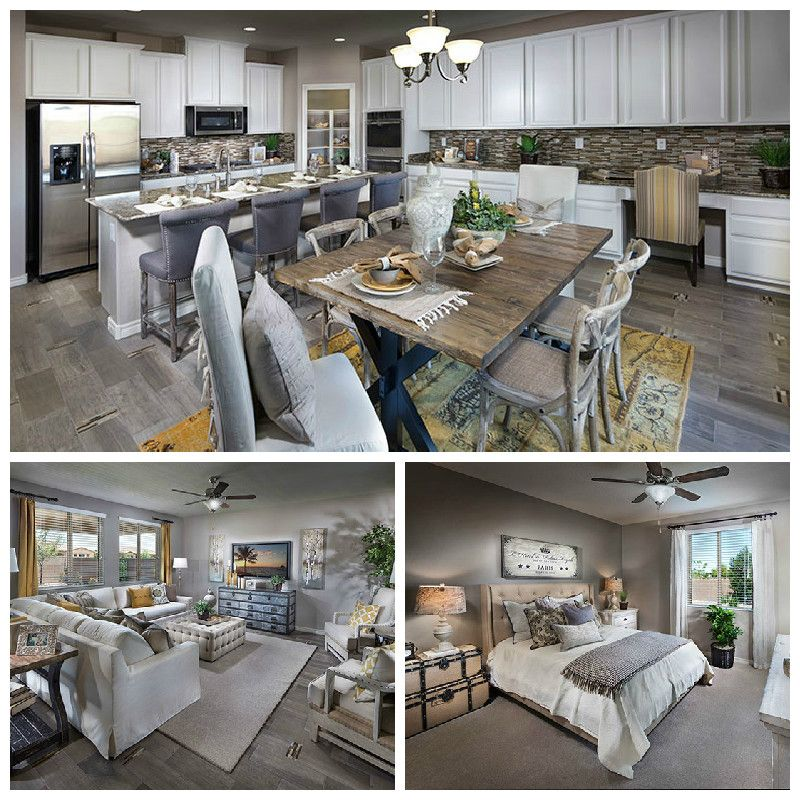 Decorated Model Homes: How Would You LIKE To Hang Out In This Lennar Home