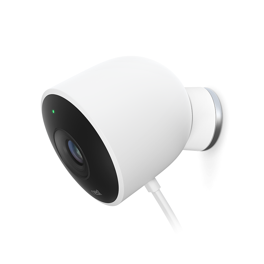 Nest Cam Outdoor helps you look after your home 24/7, rain or shine ...