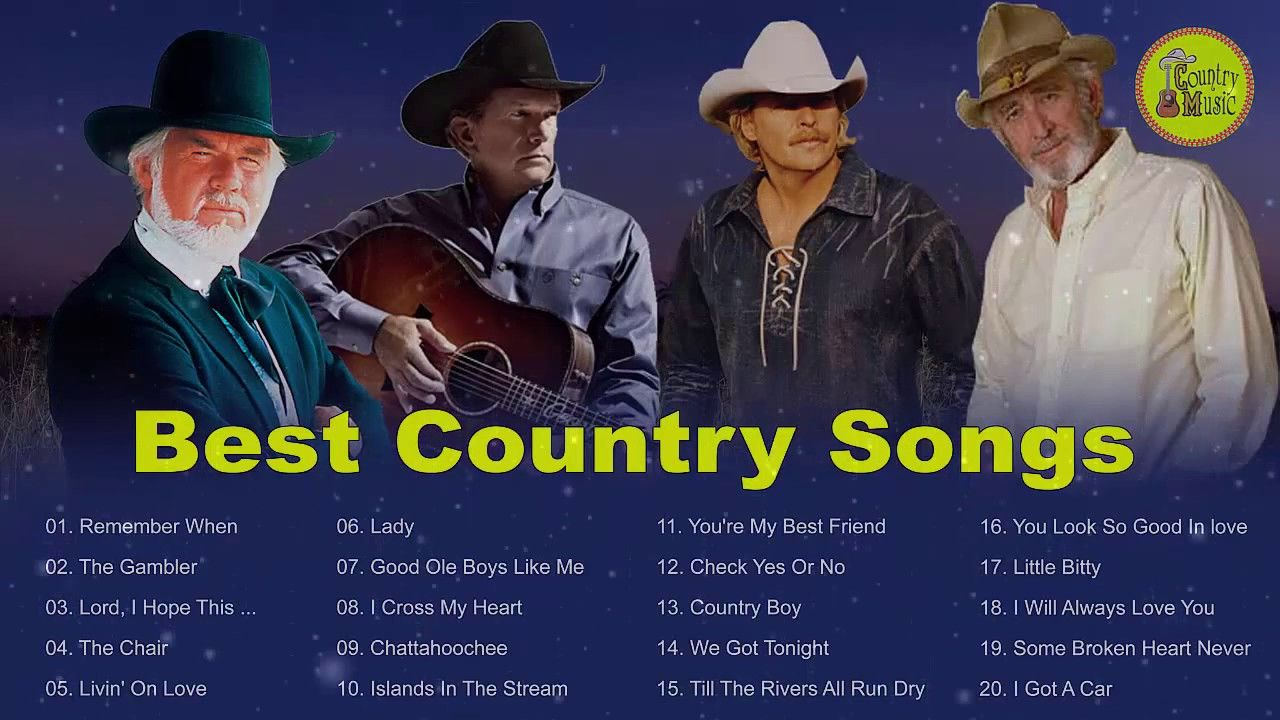 Kenny Rogers Alan Jackson Don Williams George Strait Greatest