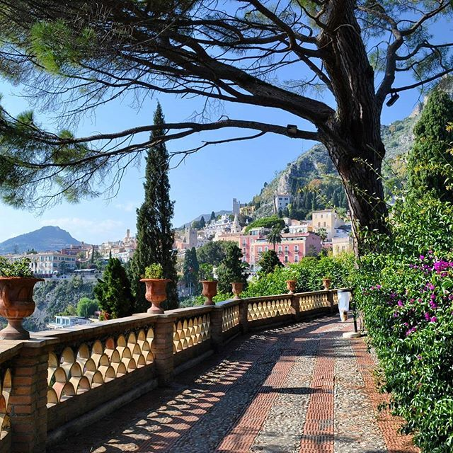 Day 38: Villa Comunale, Taormina, Sicilia, Italy   Sicily ...