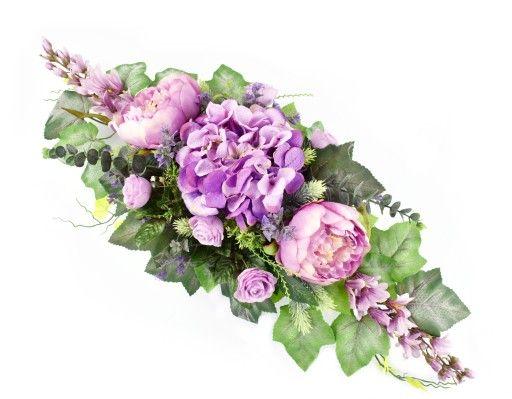 Sztuczne Kwiaty Na Grob Stroik Kompozycja Cmentarz 6985318797 Oficjalne Archiwum Allegro Flower Arrangements Happy Flowers Funeral Flowers