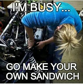 I M Busy Go Make Your Own Sandwich Cargirlforlife