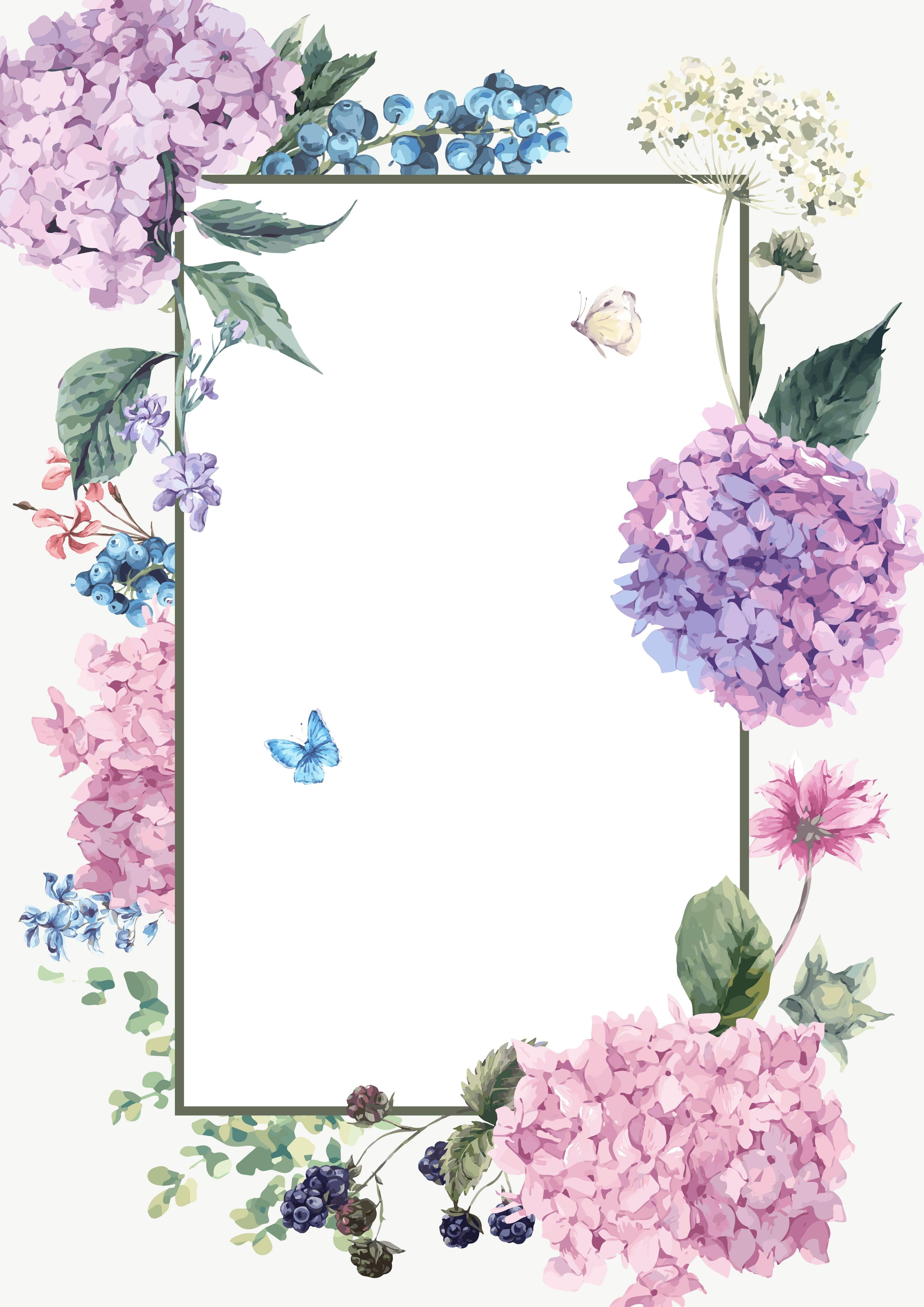 vectorelegantwatercolorhand paintedfreshflowersflower mission