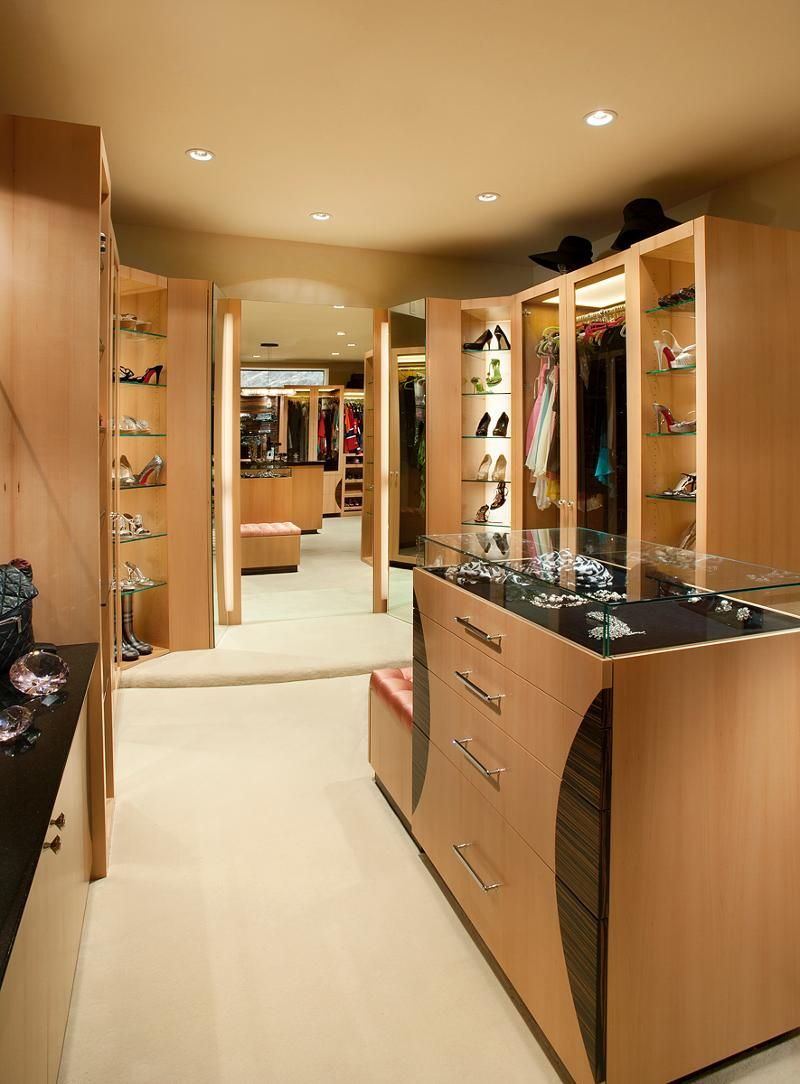 Closet from heaven examples of an over the top closet closet