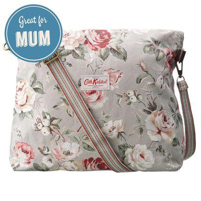 Garden Rose Folded Messenger Bag