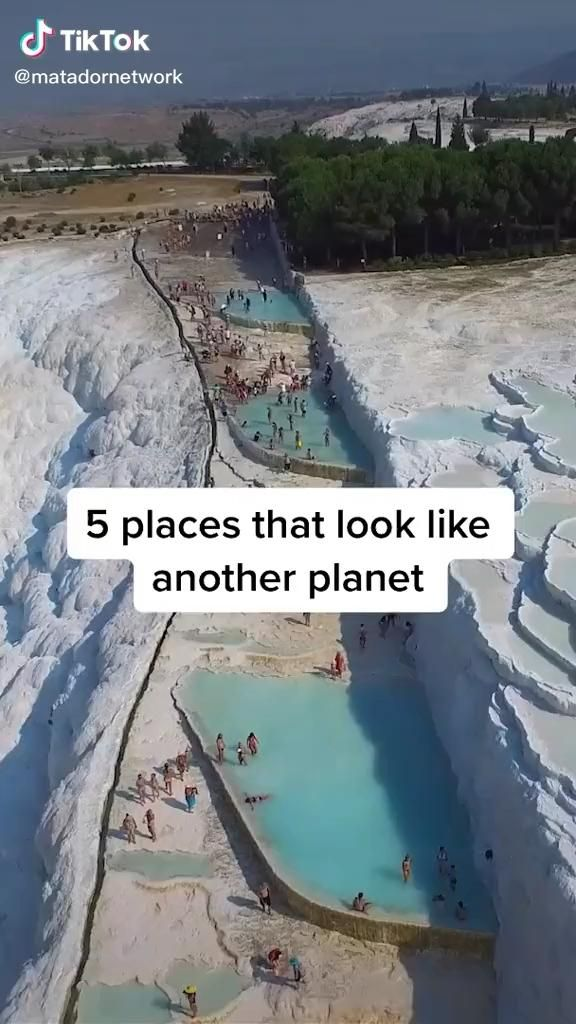 5 Beautiful Places that Look Like Another Planet