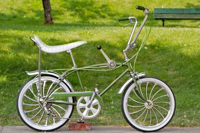 Customized 1967 Schwinn Stingray Fastback