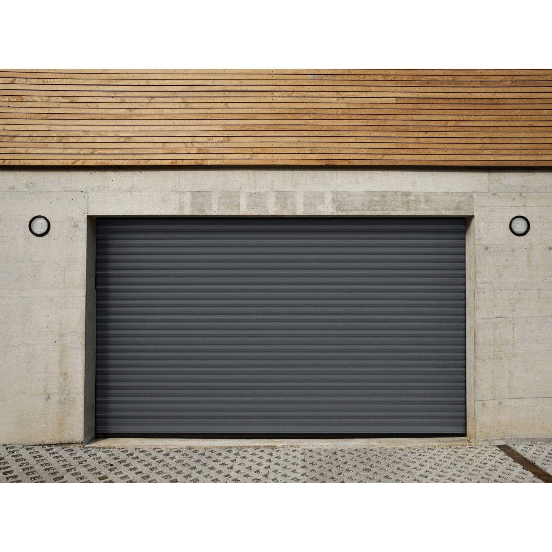 Porte De Garage à Enroulement Motorisée Artens Essentiel H