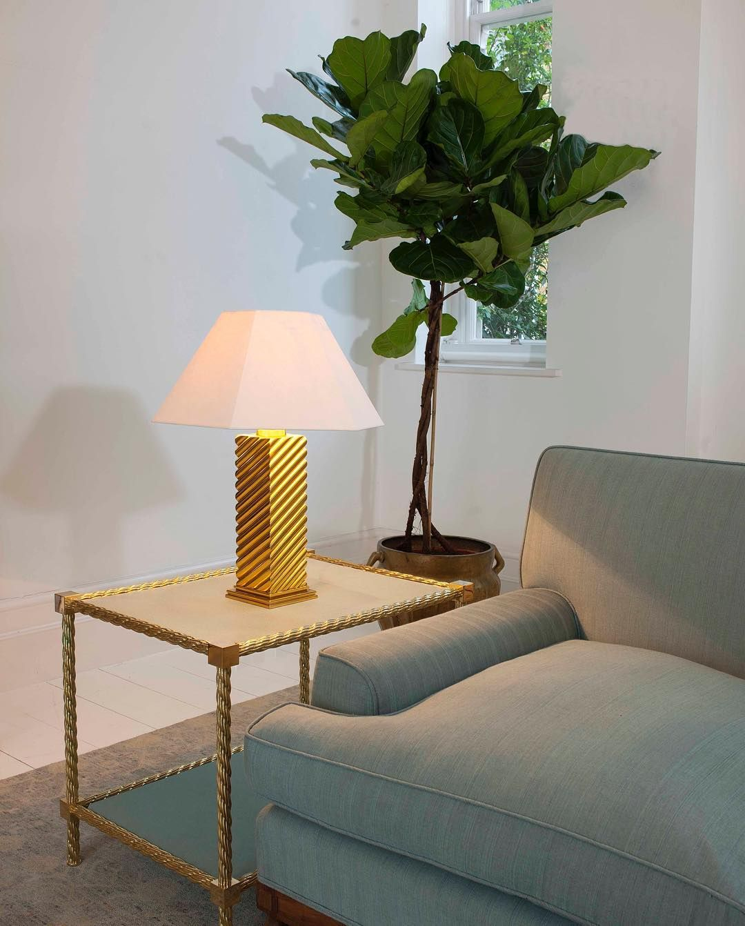 The Glamorous Grissini Lamp With Bold Three Dimensional Chevron Design Madeinbritain Lighting Tablelamp In 2020 Table Lamp Lamp Chevron Design