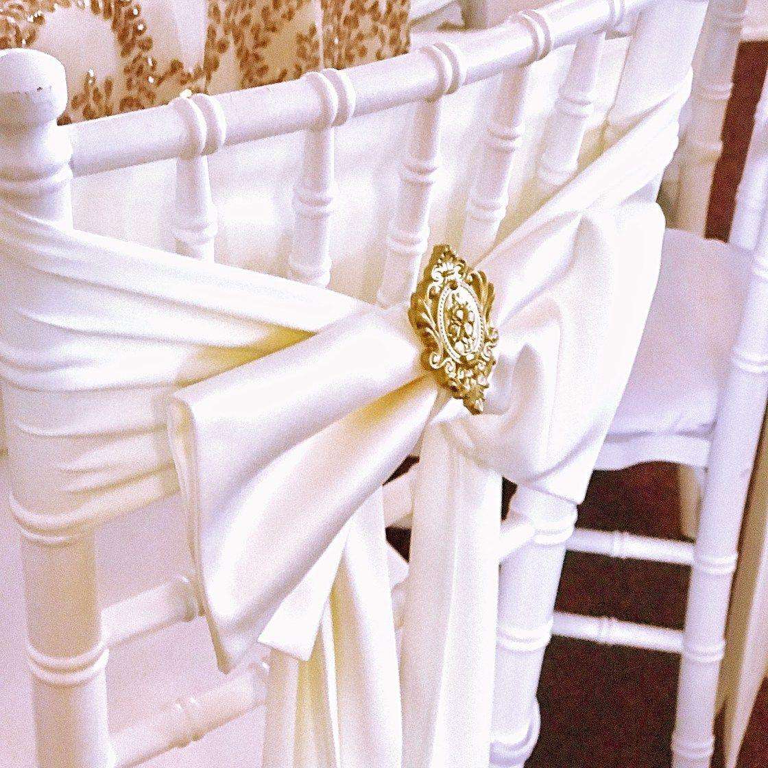 Victorian Wedding Decor - Gold, Cream, Ivory, Peach, Bronze - Satori ...