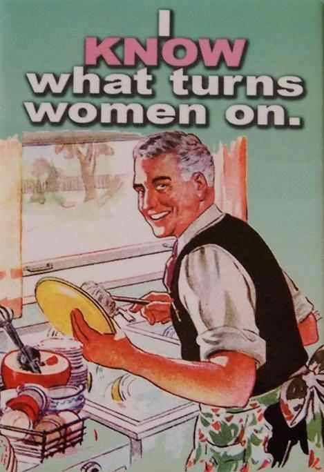 Nothing Sexier Than A Man Doing Dishes Funny Pictures Humor Retro Humor