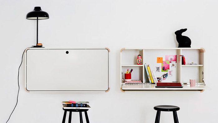 escritorio infantil plegable por la firma de mobiliario juvenil junior living leer ms