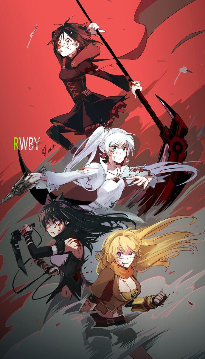 Team RWBY By Kuma