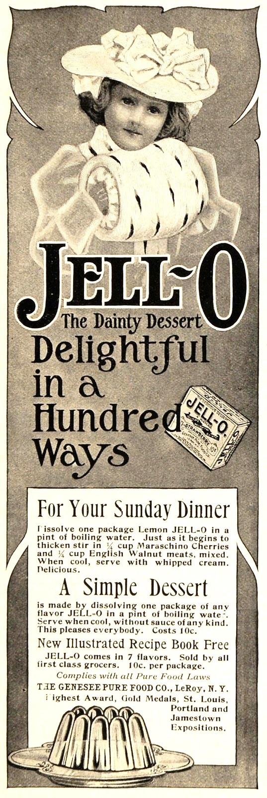 vintage jell-o