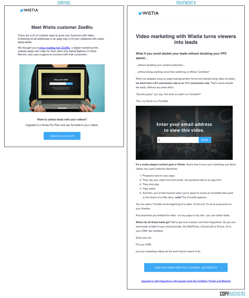 We got 3 5x the paid conversions with this SaaS onboarding