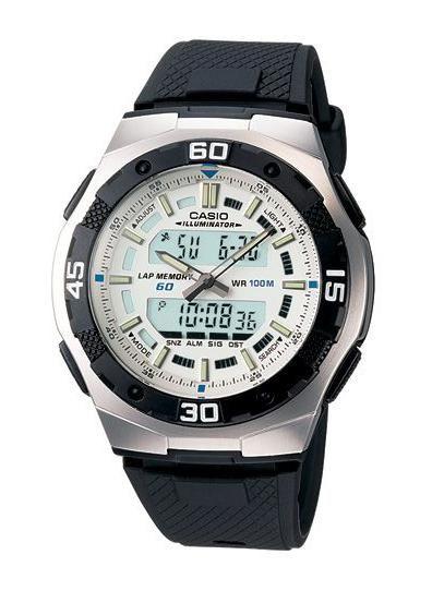 Часы casio water resist 100m