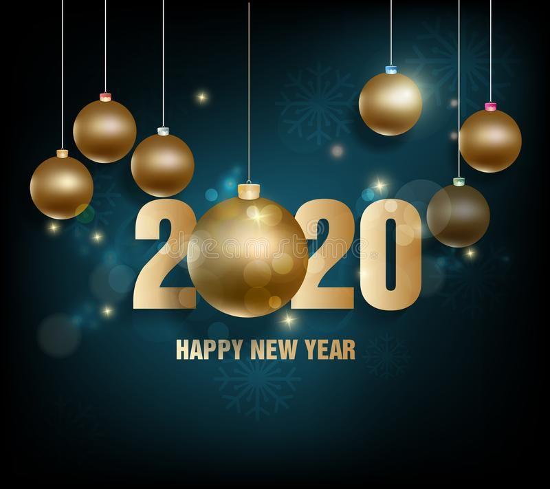 2020 Merry Christmas Happy New Year 2020, merry christmas. Happy Chinese New Year 2020