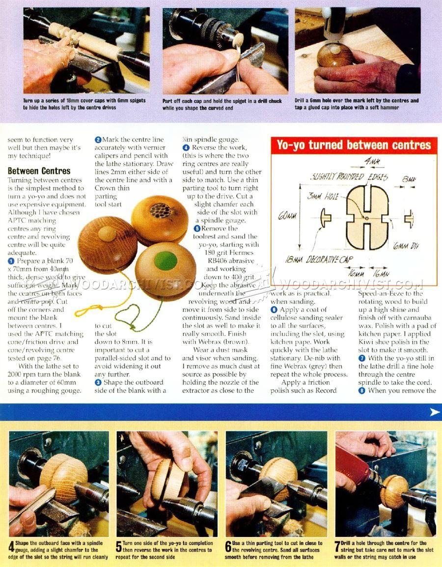 woodturning yo-yo - wooden toy plans woodturning | yo yo