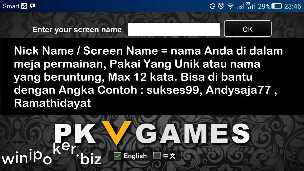 Cara Trik Cepat Download PKV Games Main Bandarq Apk. Login