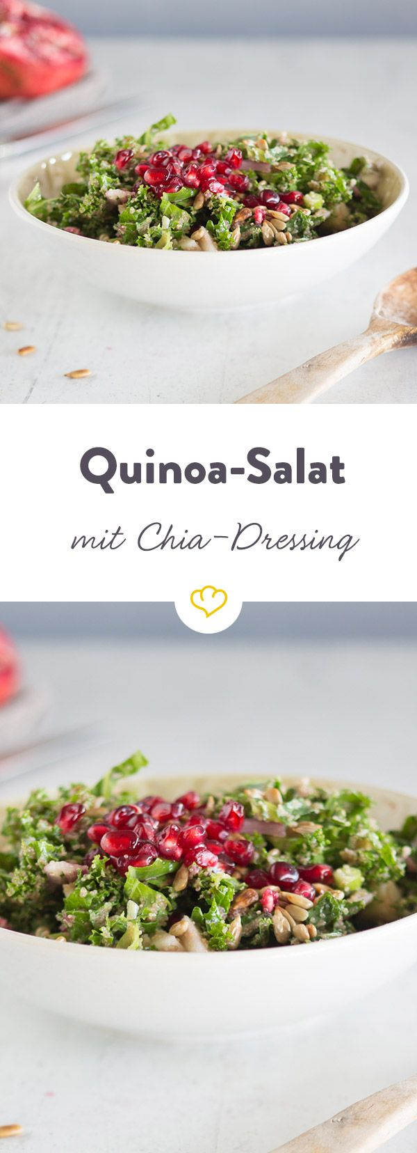 Photo of Quinoa salad with chia-lime dressing