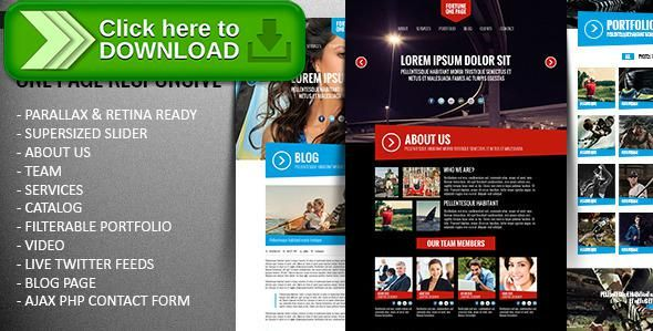 ThemeForest]Free nulled download Fortune - One Page Responsive ...