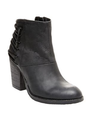 Raglin Leather Ankle Boots
