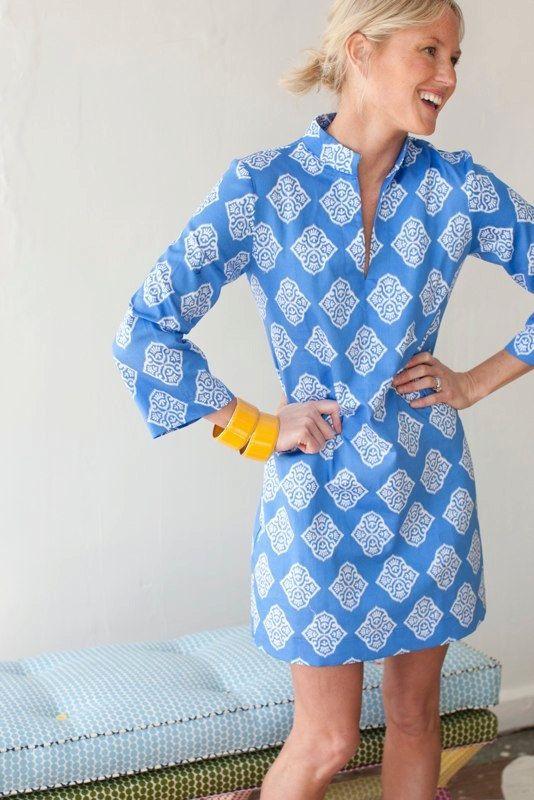 I love tunic dresses.