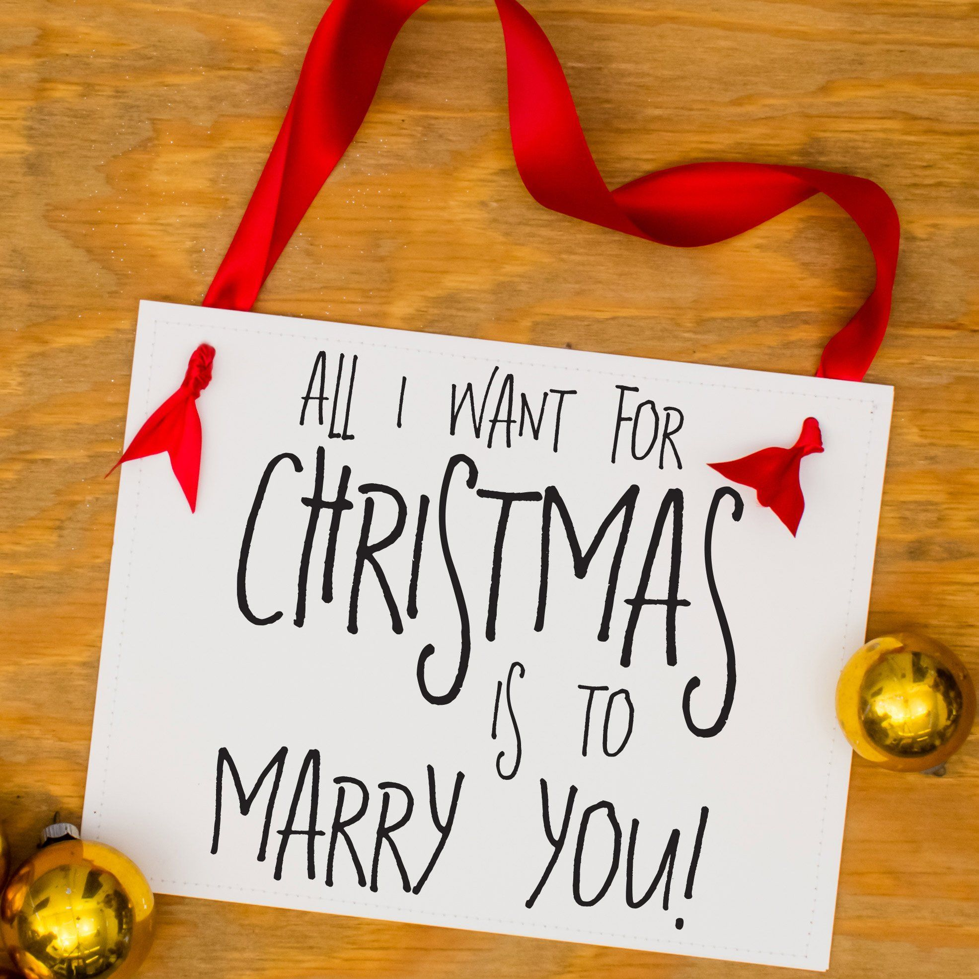 All I Want For Christmas Is To Marry You Proposal Sign Christmas Proposal Christmas Wedding Proposal Christmas Engagement Pictures