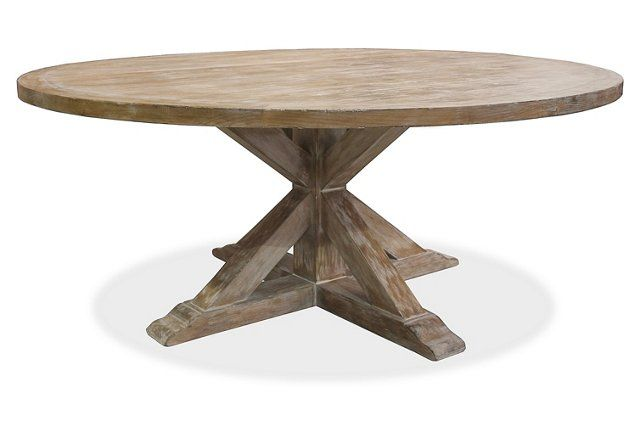 Alice Round Dining Table Whitewash Kitchen Dining 60 Dia With Images Reclaimed Wood Round Dining Table Reclaimed Wood Dining Table Round Dining Table