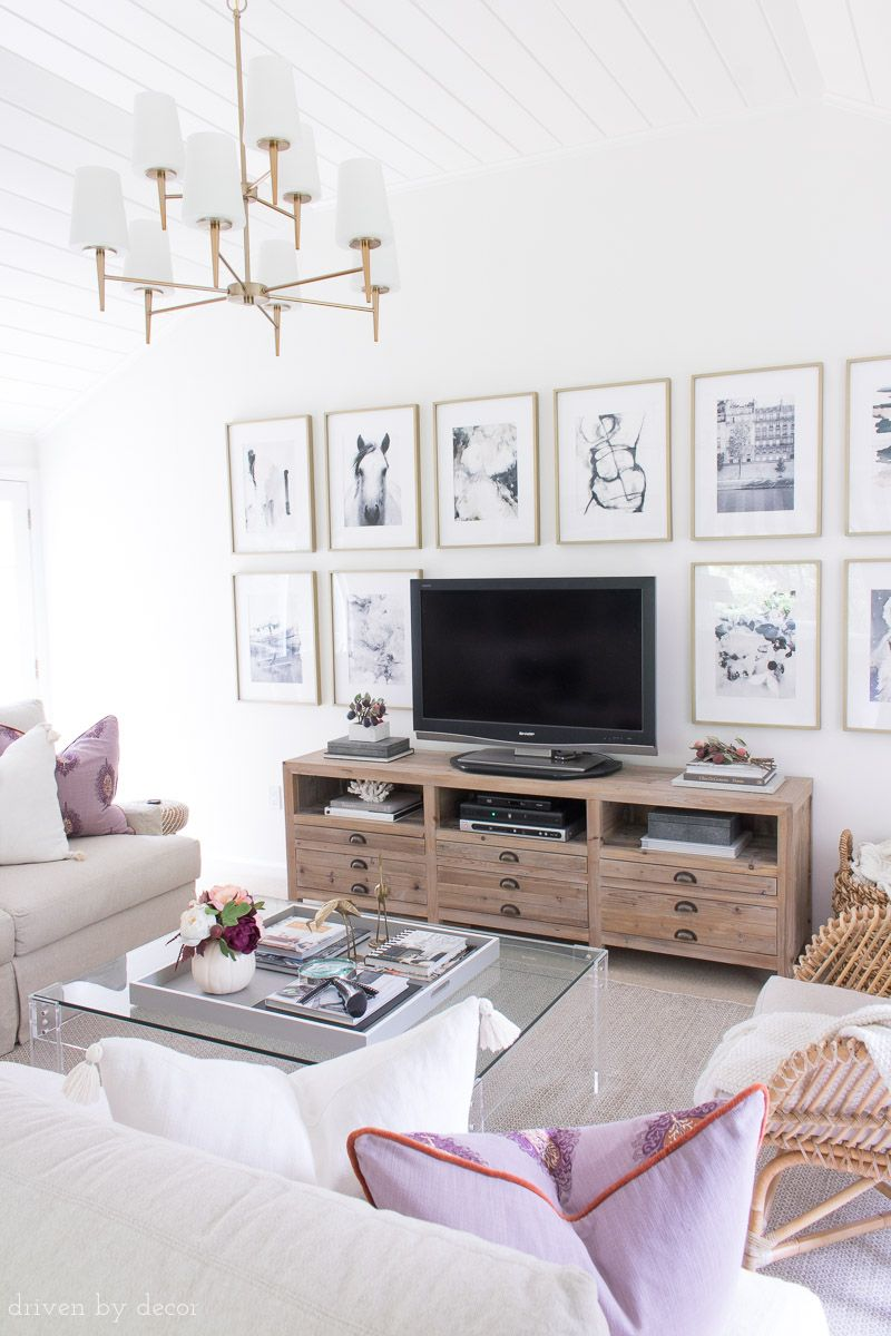 My Fall Home Tour: Fresh Ideas for Fall | Pinterest | Family room ...