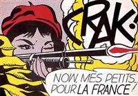 Crak by Roy Lichtenstein