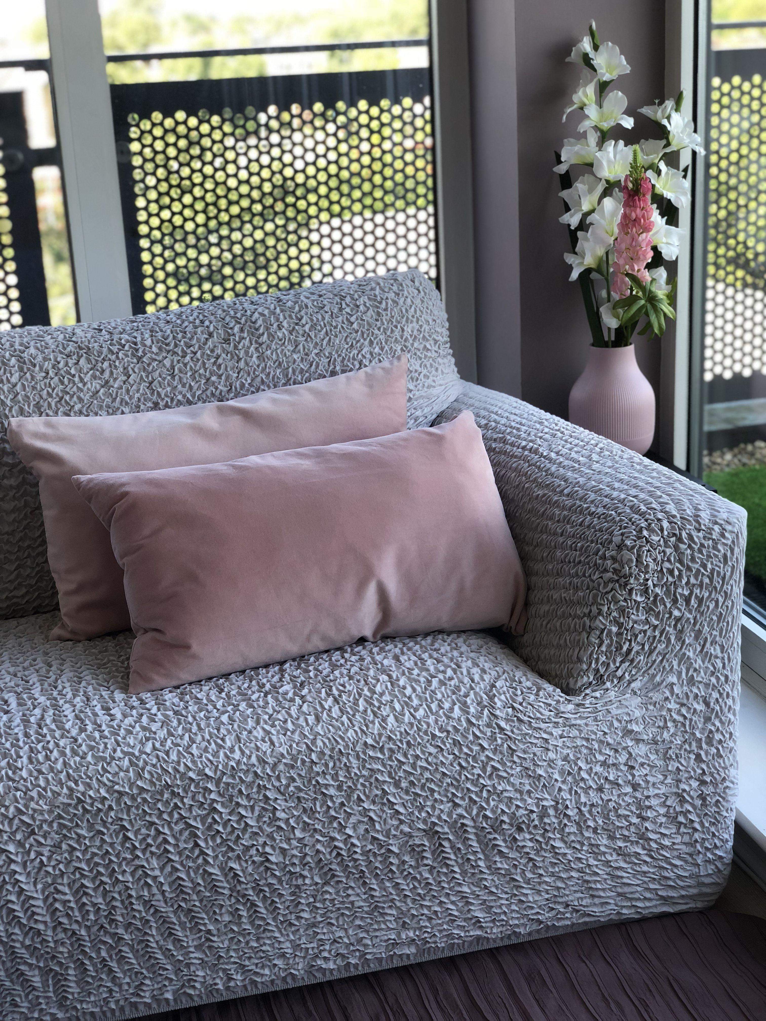 Sofa 3 Seater Slipcover, Microfibra Collection In 2020