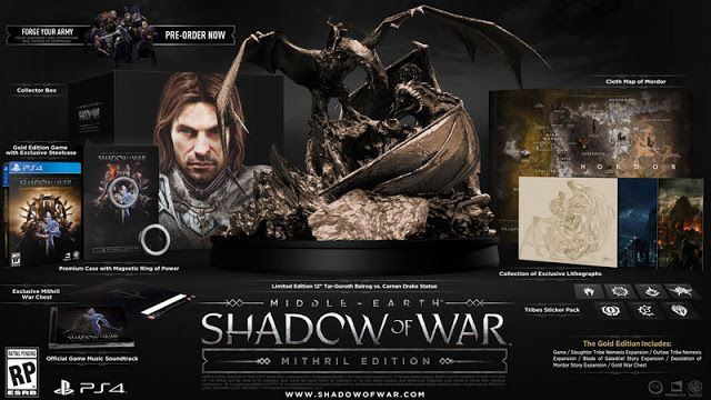 Daily Updates There S A 300 Version Of Middle Earth Shadow Of War Middle Earth Middle Earth Shadow Shadow Of Mordor