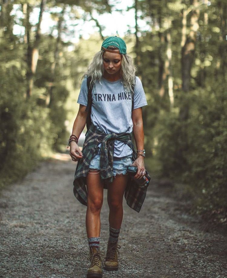 excellent hipster hiking outfit 19