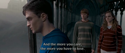 The more you care...