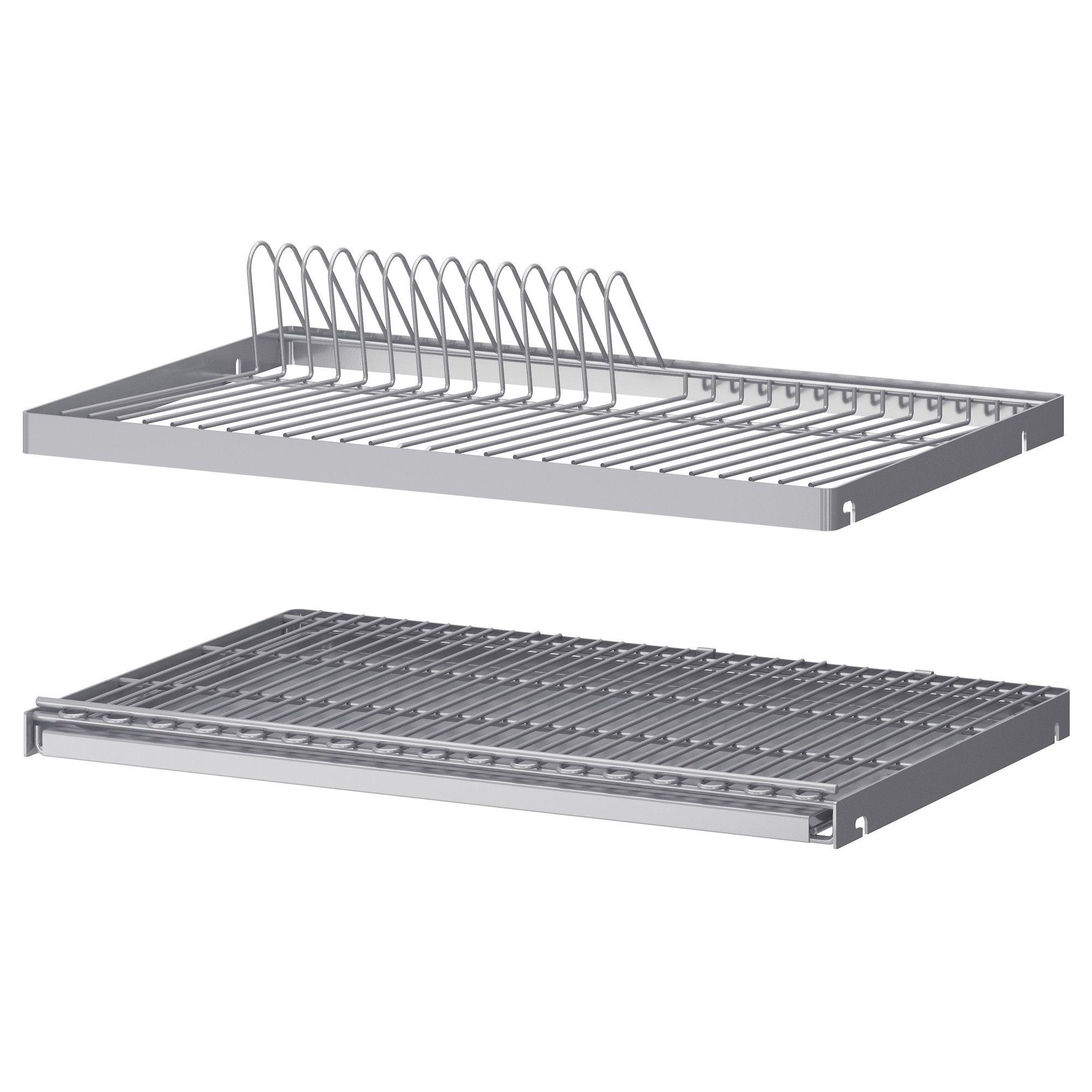 Utrusta scolapiatti per pensile dish drying racks dish for Ikea rack mount