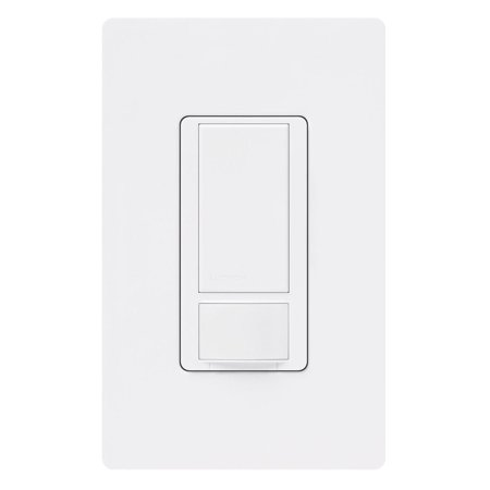 Lutron Ms Ops5m Wh 3 120v White Maestro Passive Infrared Occupancy Sensing Switch 3 Pack Plates On Wall Walmart Home Depot