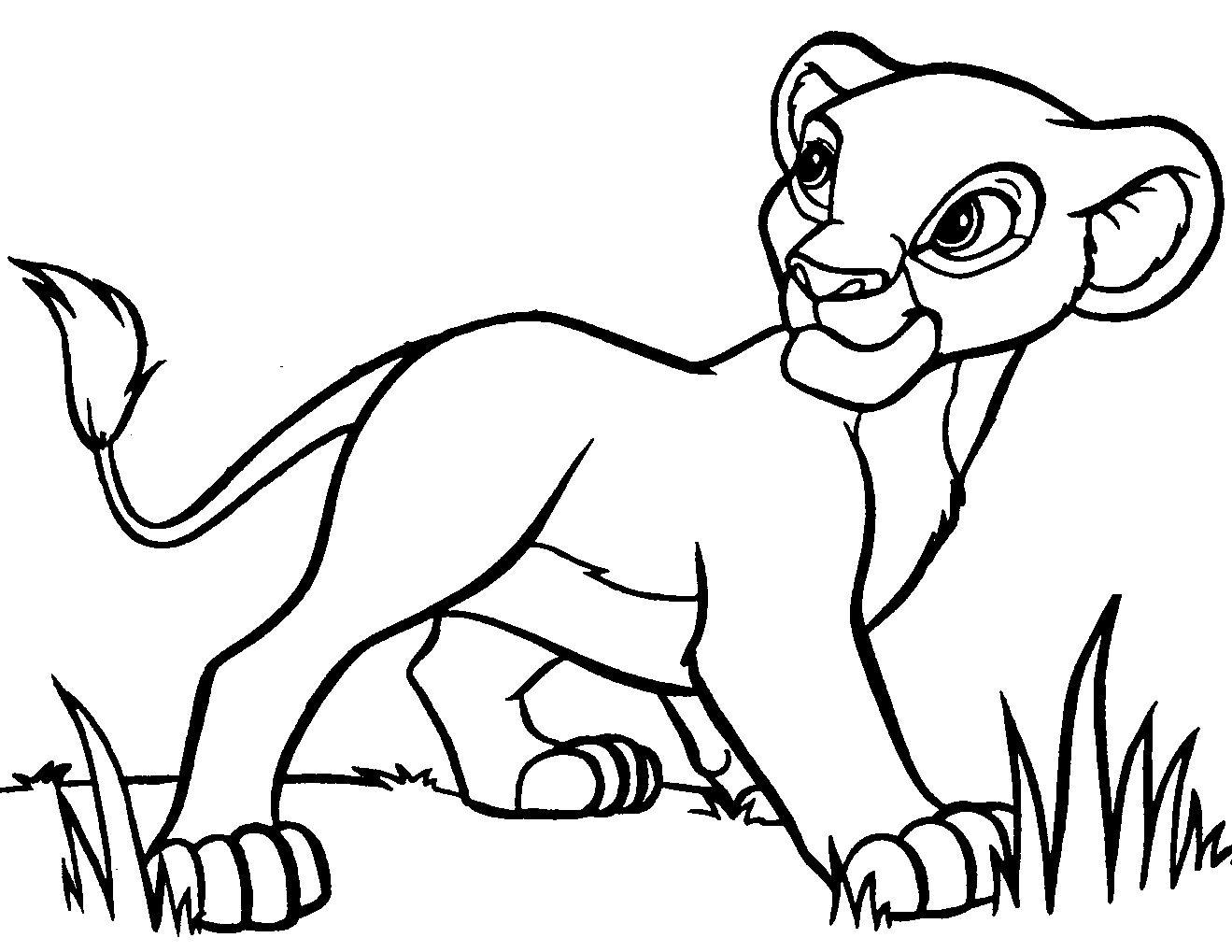 Disney Lion King Coloring Pages | images | Pinterest