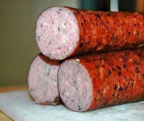 Куриная колбаска домашня…