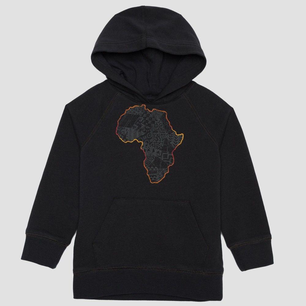 29a0727b1d2a Well Worn Kids Unisex Africa Quilt Black History Month Sweatshirt - Black 3T