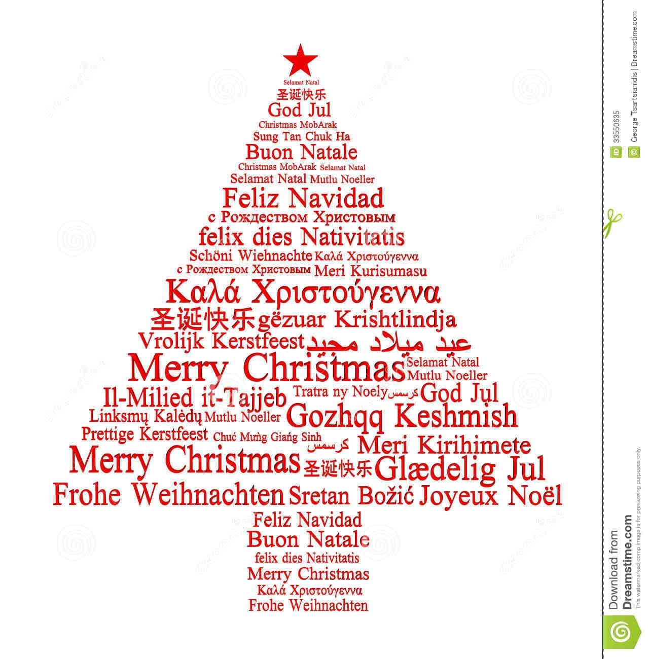 Merry Christmas In Different Languages 01 Christmas Pinterest