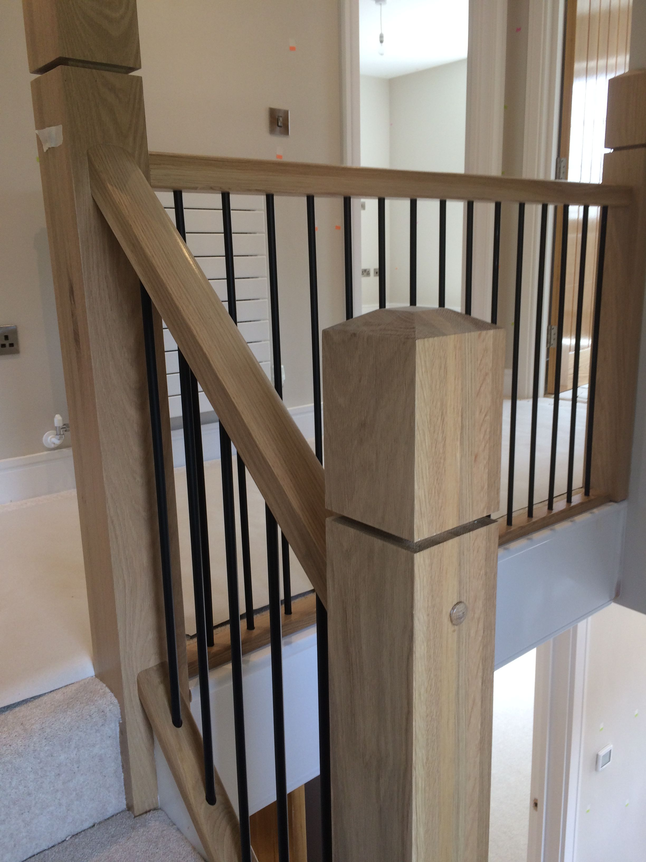 Best Oak Staircase Bespoke Staircases Staircase 640 x 480