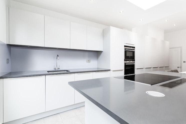 Gloss Matt Wood Kitchen Finishes: Light Grey Matt Kitchen From LWK Kitchens